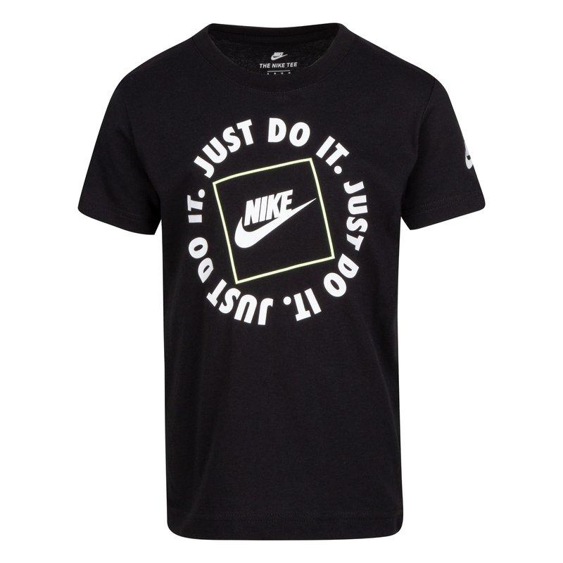 Nike Nike Kid's Just Do It Tee Black/White 86H409 023