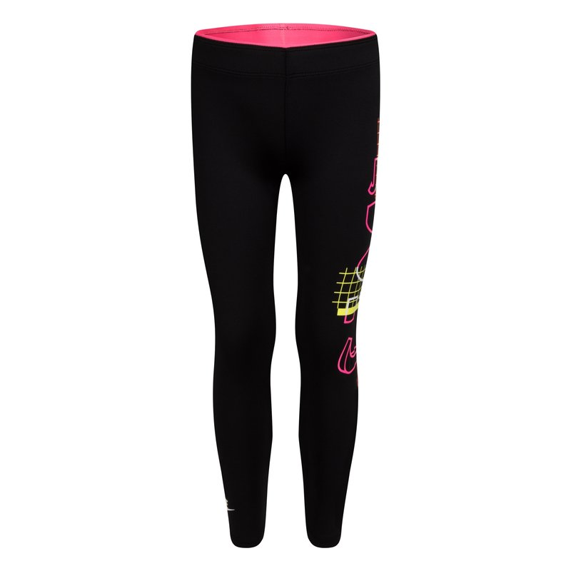 Nike Nike Girls NSW Create Leggings Black/Multi Color 36H465 023