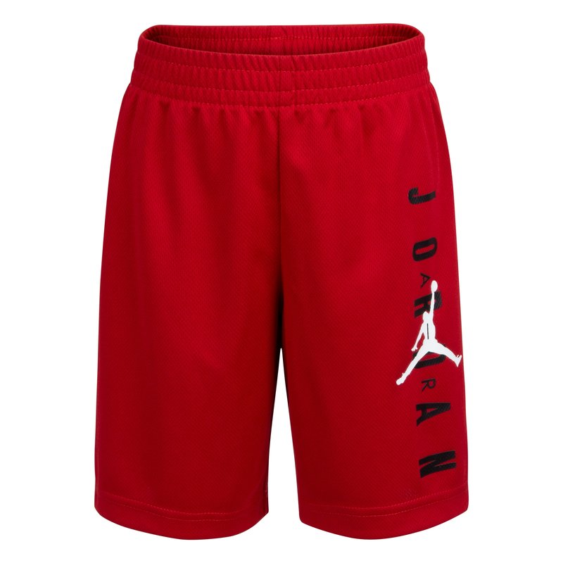 Air Jordan Air Jordan Boys Jumpman Vertical Mesh Short Gym Red/White 957176 R78