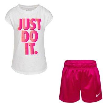 Nike Nike Girls Dazzle Short Set 26H504 A0I