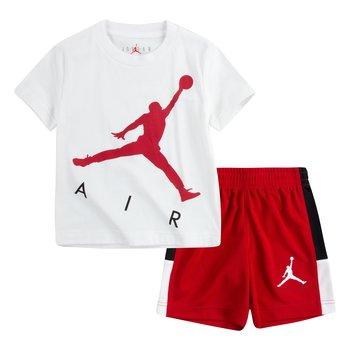 Air Jordan Air Jordan Boys 2 Piece Shorts Set White/Red 75A390 R78