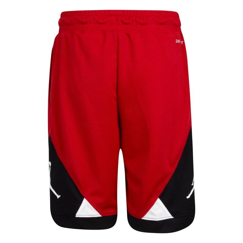 Air Jordan Air Jordan Boys Jumpman Shorts Dri-Fit Red/Black/White 95A299 R78