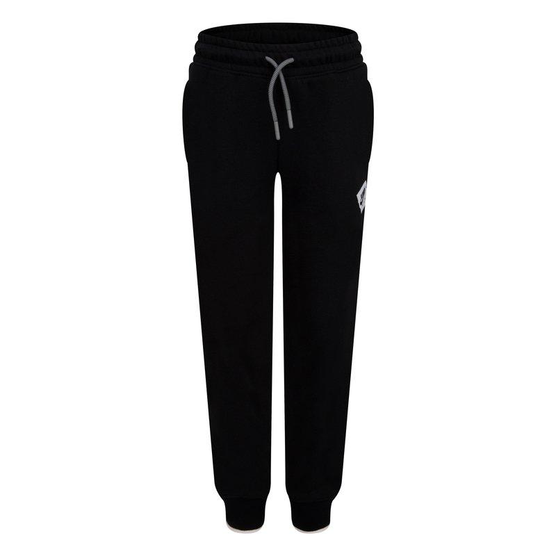 Air Jordan Air Jordan Boys Jumpman Fleece Pant Black/White 85A296 023