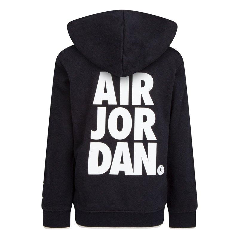 Air Jordan Air Jordan Boys Jumpman Hoodie Black/White 85A294 023