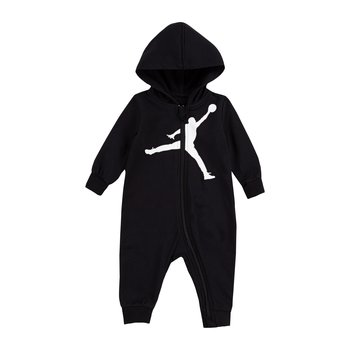 Air Jordan Air Jordan Boys Jumpman Hooded Coverall Black/White 65A594 023
