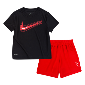 Nike Nike Boys 2 Piece Shorts Set Swoosh Logo 76H371 U10