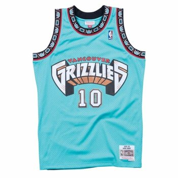 Mitchell & Ness Mitchell & Ness Vancouver Grizzlies Mike Bibby 1998-99 Jersey Teal