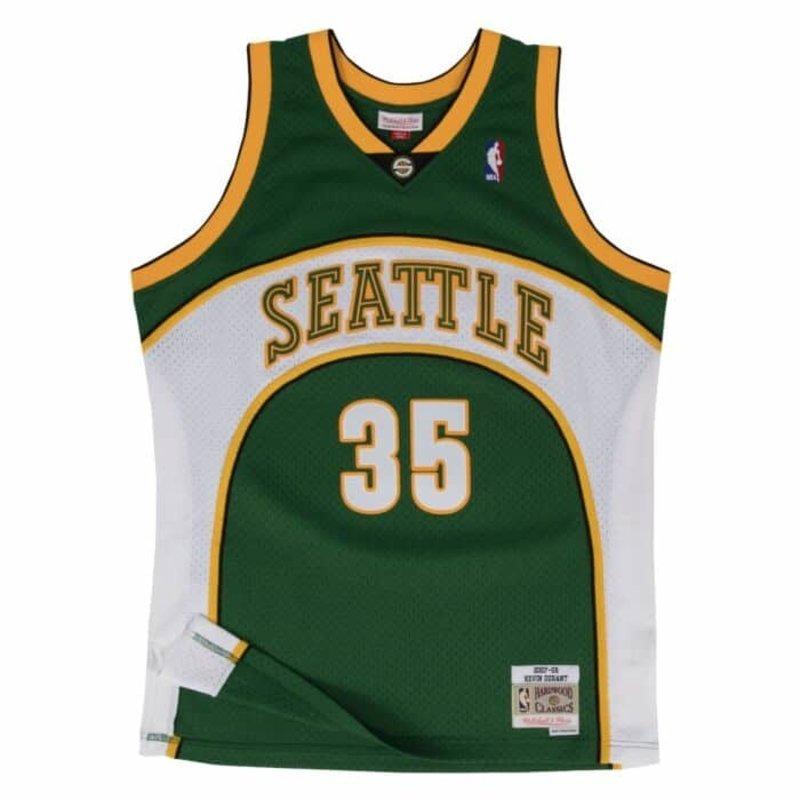 Mitchell & Ness Mitchell & Ness Kevin Durant Seattle Sonics Swingman Jersey 2007-2008 Green/White