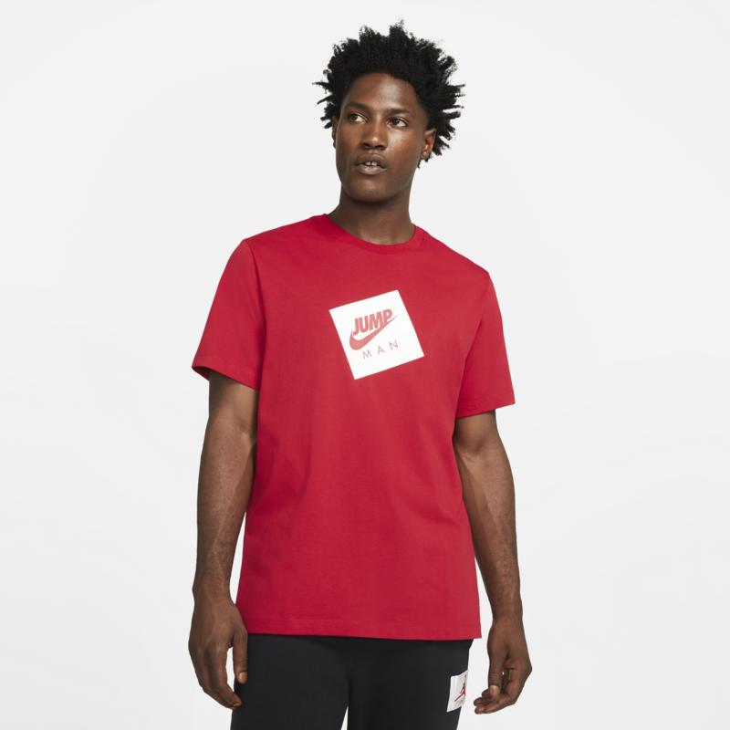 Air Jordan Air Jordan Men's Jumpman Box T-shirt 'Red' DD0963 687