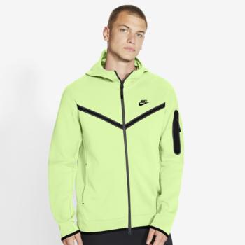 Nike Nike Men's Sportswear Tech Fleece Hoodie Highlighter Lime CU4489 383