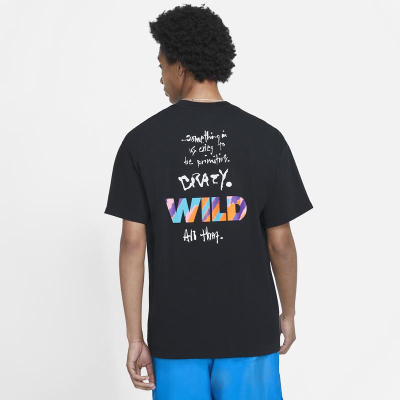 Nike Nike Men's MAX90 Wild Tshirt 'Black' DB6133 010