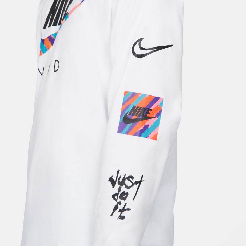 Nike Nike Men's LS Wild Futura 'White' DB6137 100