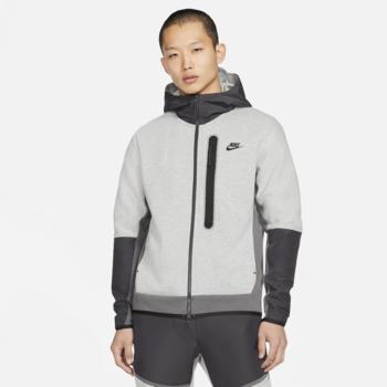Nike Nike Men's Tech Fleece Woven Zip Up Jacket Grey/Black CZ9903 063