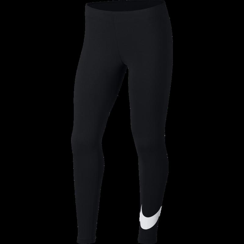 Nike Nike Big Girl's NSW Swoosh Leggings 'Black' AR4076 010