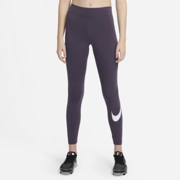 Nike Nike Women's NSW Essential Leggings Swoosh 'Dark Raisin/White' CZ8530 573