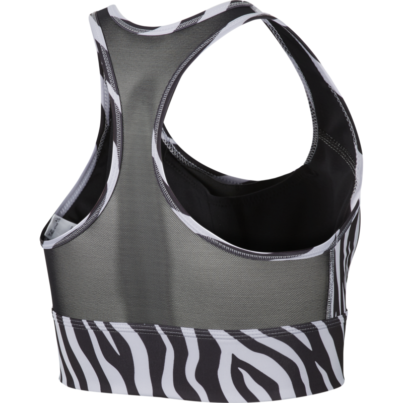 Nike Nike Women's  Swoosh Icon Clash Bra SP21 'Black/Purple Chalk/White' CZ7208 010