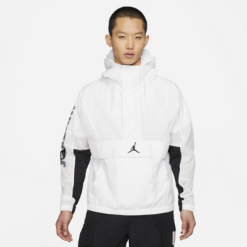 Air Jordan Air Jordan Men's Jumpman Spring Jacket White/Black CV1864 100