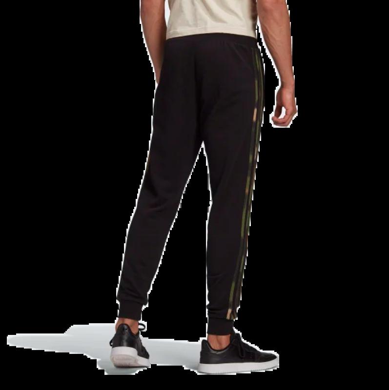 Adidas Adidas Men's CAMO STRIPES SWEAT PANTS Black/Wild Pine/Multicolor GN1861