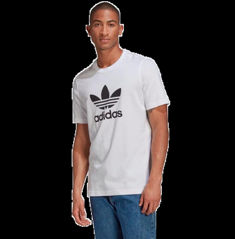 Adidas Adidas Men's Adicolor Classics Trefoil Tee White/Black GN3463