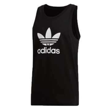 Adidas Adidas Men's Trefoil Tank Top Black/White DV1509