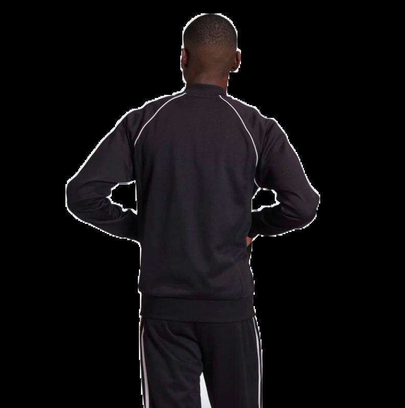 Adidas Adidas Men's Adicolor Classics Primeblue SST Track Jacket Black/White GF0198