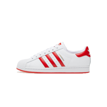 Adidas Adidas Men's Superstar White/Red FW6011