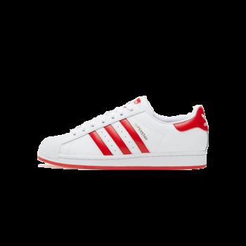 Adidas Adidas Men's Superstar White/Red FW6011