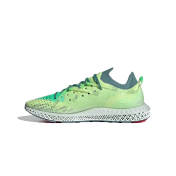 Adidas Adidas Men's 4D FUSIO Semi Frozen Yellow/Hazy Emerald/Dove Grey FY3603