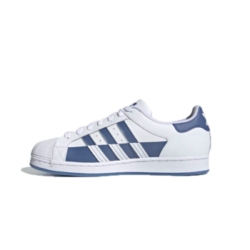 Adidas Adidas Men's SUPERSTAR Cloud White/Crew Blue/Cloud White FX5532