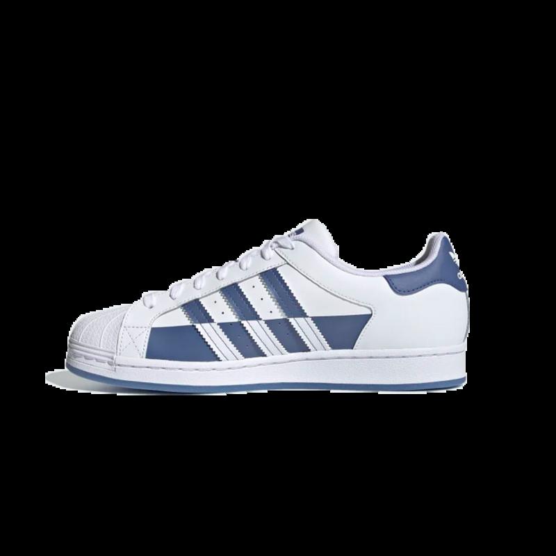 Adidas Adidas Men's SUPERSTAR Cloud White/Crew Blue/Cloud White FX5532