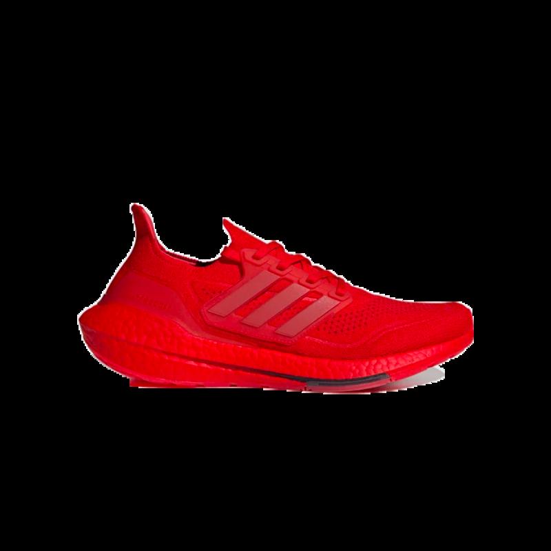Adidas Adidas Men's ULTRABOOST 21 Vivid Red/Core Black FZ1922