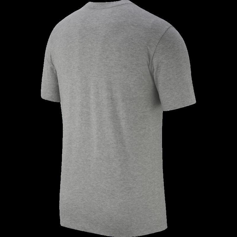 Nike Nike Men's Just do it T-Shirt Grey/Black AR5006 083