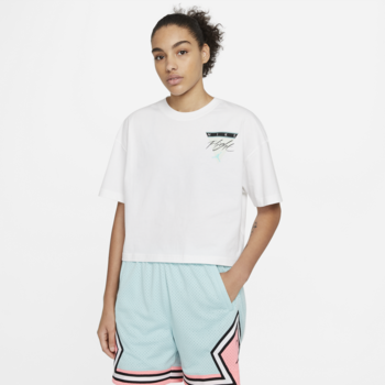 Air Jordan Air Jordan Women's Graphic Tee White/Multi DC2153 100