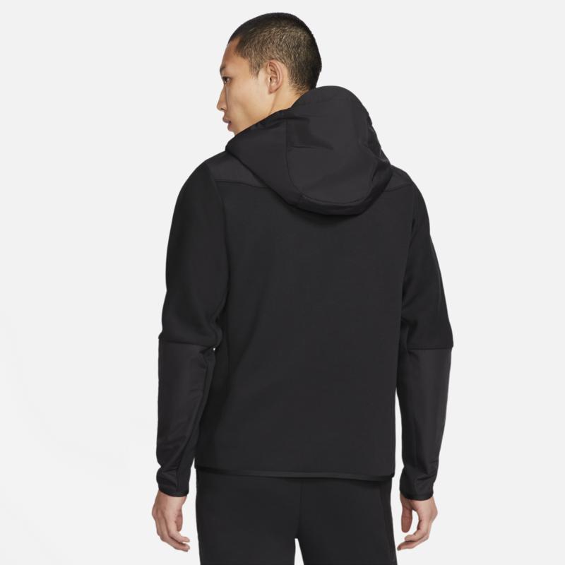 Nike Nike Men's Tech Fleece Woven Zip Up Jacket Black/Black CZ9903 010