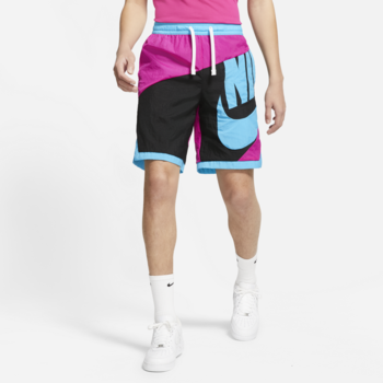 Nike Nike Men's Dri-FIT Throwback Futura Basketball Shorts Pink/Bue CV1829 615