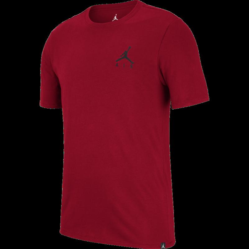Air Jordan Air Jordan Men's Embroidered Jumpman T-shirt Red AH5296 687