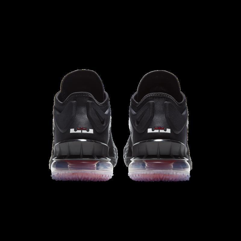 Air Jordan Nike Men's Lebron 18 Low Black/White-University Red CV7562 001