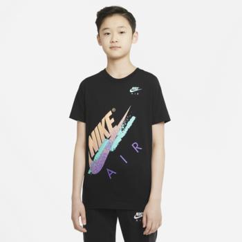 Nike Nike Kid's Air Beach Brandmark Tee Multi/Black DH6520