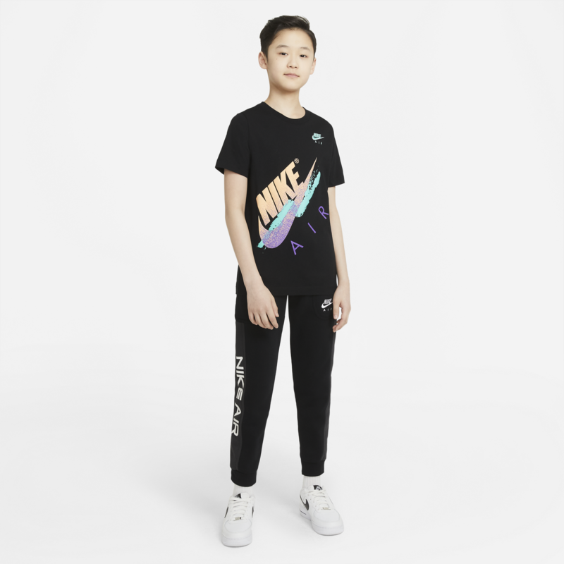 Nike Nike Kid's Air Beach Brandmark Tee Multi/Black DH6520