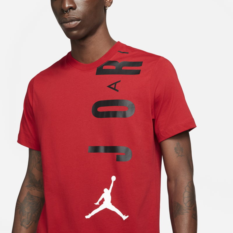 Air Jordan Air Jordan Men's Stretch Jumpman Tee Red/Black CZ8402 687