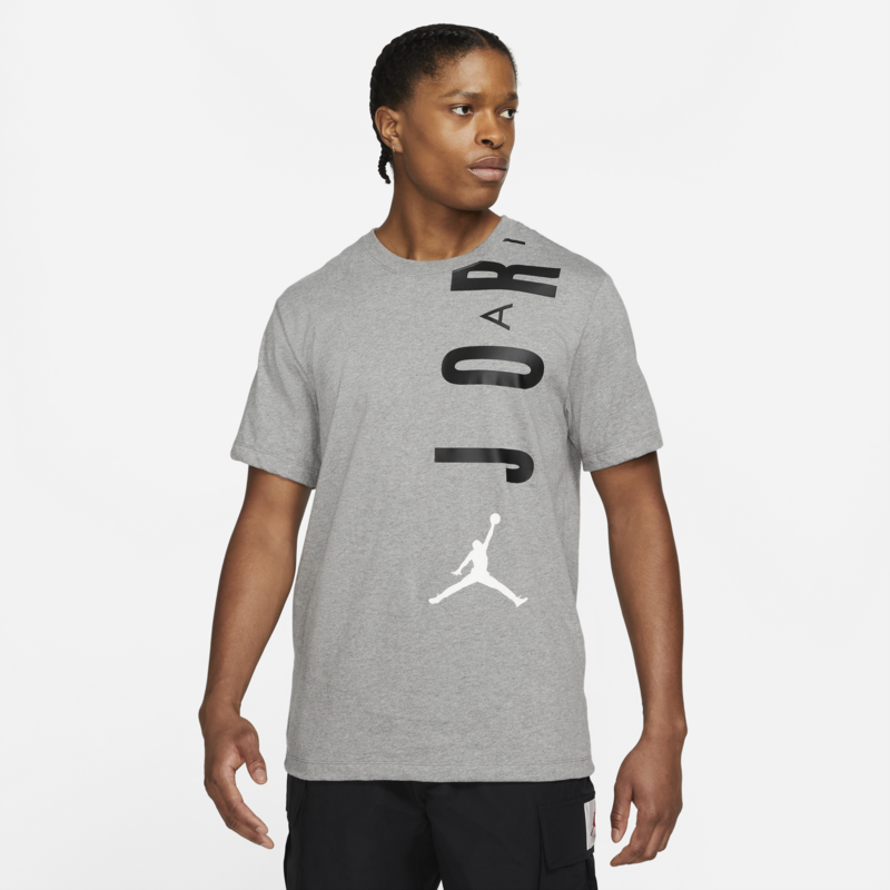 Air Jordan Air Jordan Men's Stretch Jumpman Tee Grey/Black CZ8402 091
