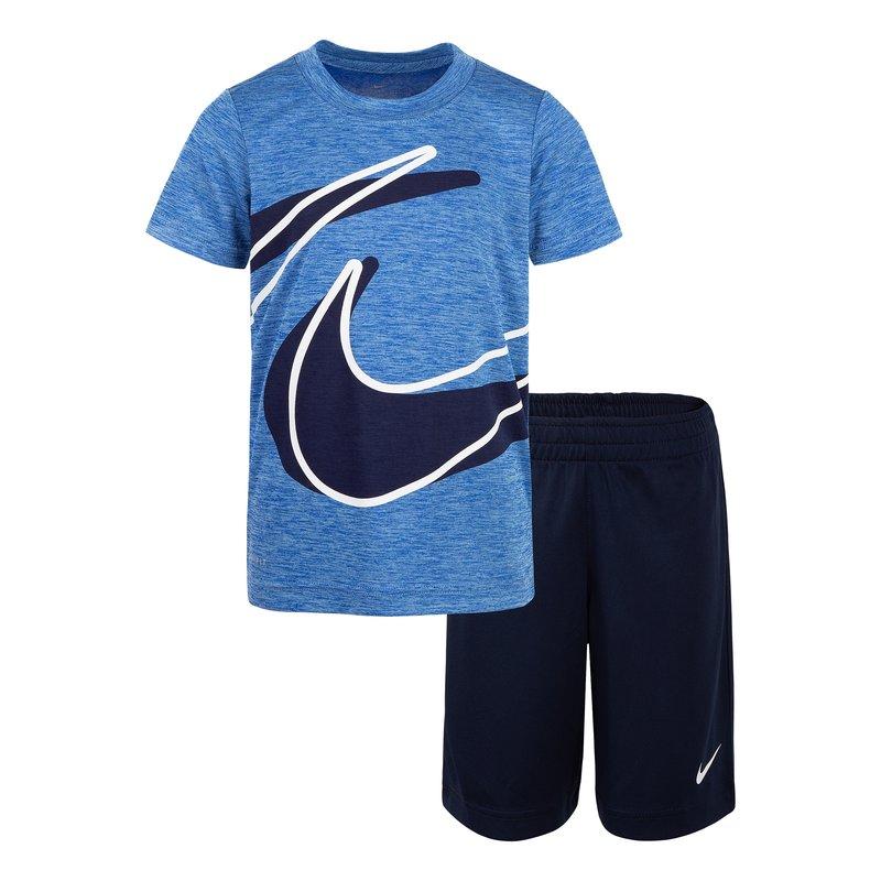 Nike Nike Kids Dri-Fit Dropset Short Set 'Obsidian' 86E526 695