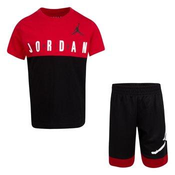 Air Jordan Air Jordan Kids Colorblock Short Set 'Black' 85A396 023