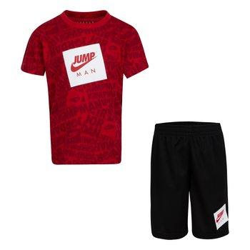 Air Jordan Air Jordan Kids Jumpman AOP Short Set 'Black' 85A358 023