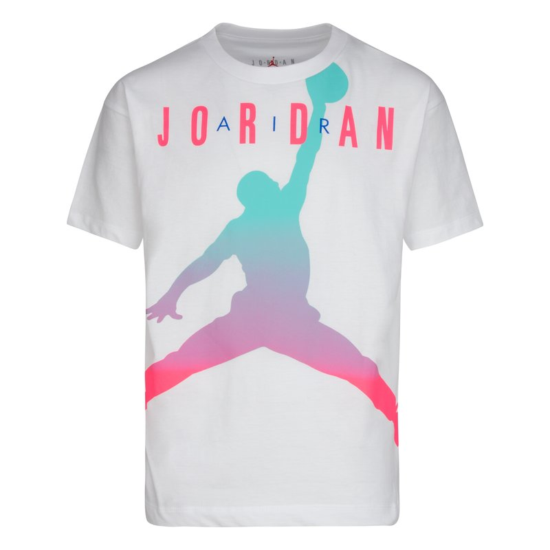 Air Jordan Air Jordan Youth Girls Fadeaway Tee 'White' 457884 001