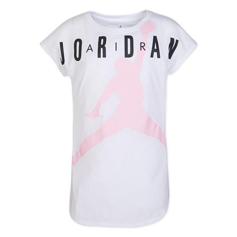 Air Jordan Air Jordan Youth Girls Air Tee 'White' 455985 001