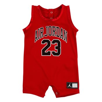 Air Jordan Air jordan Infant Jersey Romper 'Gym Red' 556169 R78