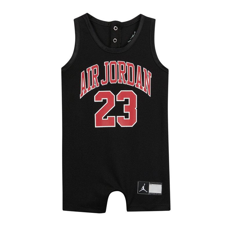 Air Jordan Air jordan Infant Jersey Romper 'Black' 556169 023