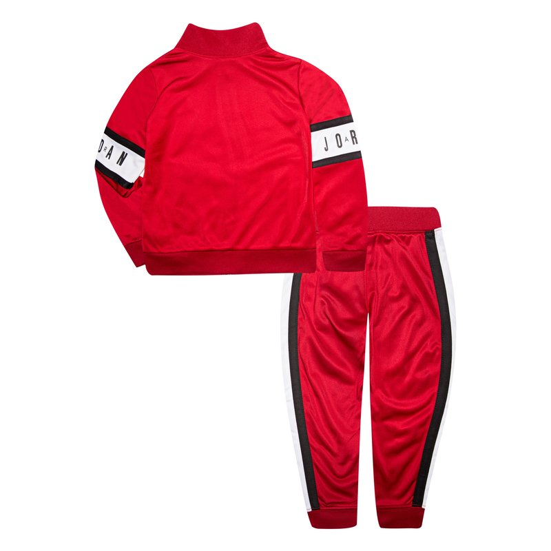 Air Jordan Air Jordan Kids Tricot Set 'Gym Red' 855639 R78