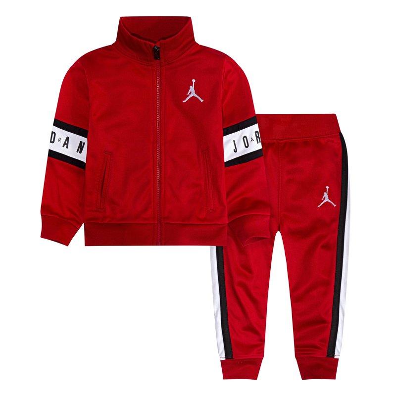 Air Jordan Air Jordan Toddler Tricot Set 'Gym Red' 655639 R78